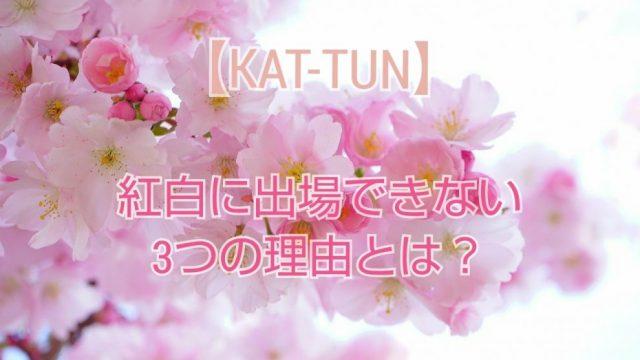 KAT-TUN 紅白